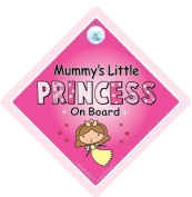 Mummy's Little Princess On Board Car Sign, Mummy's Little Princess, Mummy's Little Princess On Board, Baby on Board Sign, Baby On Board, baby on board, Maternity Gift, Baby Shower Gift, Princess On Board Car Sign, Princess Sign