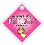 Mummy's Little Princess On Board Car Sign, Mummy's Little Princess, Mummy's Little Princess On Board, Baby on Board Sign, Baby On Board, baby on board, Maternity Gift, Baby Shower Gift, Princess On Board Car Sign, Princess Sign