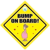 Bump On Board Car Sign, Bump on Board, Baby on Board, Baby On Board Car Sign, Bumper Sticker, Grandchild on Board, Pregnancy, Maternity, Mum to be, baby on board, Baby Car Sign, New Mum Sign, Maternity Sign, Paternity Sign, Baby Shower Sign