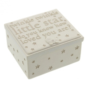Bambino by Juliana Resin Trinket Box - Twinkle Twinkle