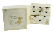 Button Corner Baby Special Keepsake Box with Drawers