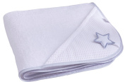 Clair de Lune Silver Lining Hooded Towel