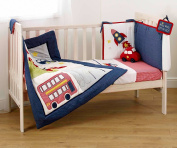Suncrest Fetch the Engine Boy's Cotbed Bedding Set