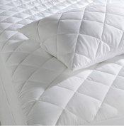 •ROHILinen• Pair Of Premium Synthetic Super Microfibre Goose Feather & Down Pillow, Department Store Quality - Anti Dust Mite Protection