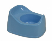 First Steps Plastic Potty for Baby & Toddler for Potty Training in Blue