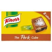 Knorr Stock Cubes Pork (8x10g)