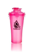 Hydracup Dual Shaker - Neon Pink