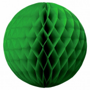 "SUNBEAUTY 3""(8cm) Pack of 20 Dark Green Colour Tissue Paper Honeycomb Balls Wedding Decoration Birthday Baby Shower Bridal Shower"