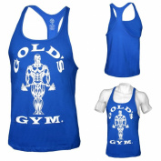 Golds Gym Stringer Tank Top, Royal | Muscle Joe,Bodybuilder,T-shirt,axillary shirt