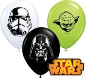 Star Wars Faces Assortment 13cm Qualatex Latex Balloons x 10