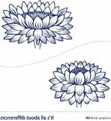 Bg Temporary Tattoo Inspire Series-lotus