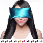 Unscented Eye Pillow - Migraine, Stress Relief - #1 Hot/Cold Yoga Eye Pillow - Made in USA Since 1991 ★ 100% Satisfaction Guaranteed ★ Filled With Organic Flax Seed. ★ The Perfect Gift - Perfect Price ★ Eye P ..