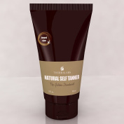 Golden Standard Natural Self Suntan | Flawless Bronzer Light Tanner (Travel Size 90ml) Forget That Fake Looking Bake