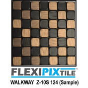 FLEXIPIXTILE, Sample, Aluminium Mosaic Tile, Peel & Stick, Kitchen Backsplash, Accent Wall, WALKWAY