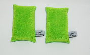 FINA Microfiber Bath & Shower Loofah/Scrubber with Inside Sponge for Exfoliation and Reinvigoration of delicate skin