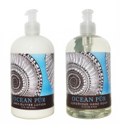 Ocean PUR Hand & Body Lotion and Ocean PUR Hand Soap Duo Set 470ml each by Greenwich Bay Trading Co.