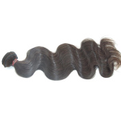 LaNova Beauty Lady's Peruvian Natural Colour Size:41cm Deep Wave 1pc/lot 100g/pc