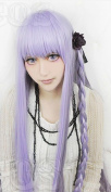 Mzcurse 100cm Danganronpa Dangan-ronpa 2 Kyouko Kirigiri Anime Cosplay Long Braid Party Wig