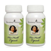 """2 x Shahnaz Husain Hair Health Capsule - - """"Expedited International Delivery by USPS / FedEx """""""
