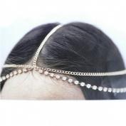 Lowpricenice Hair Head Chain Band