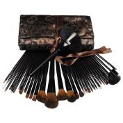 Fashion Zone Pro 34 Fashion Makeup Eyeshadow Cosmetic Brush Set