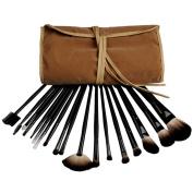 Fashion Zone Pro 18 Brown Makeup Eyeshadow Cosmetic Brush Set