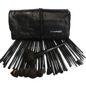 Coscelia Pro 32 pcs black colour professional Make up Brush set