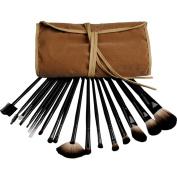 Coscelia Pro 18 Brown Makeup Eyeshadow Cosmetic Brush Set