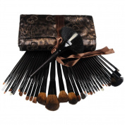 Coscelia Pro 34 Fashion Makeup Eyeshadow Cosmetic Brush Set