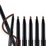 Easy Lifestyles New Arrive 5 Colours Coffee Brown Deep brown Deep coffee Grey Natural Double-end Eyebrow Pencil 5Pcs/Lot