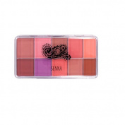 Senna Cosmetics Slipcover Palette, Vivid Matte Blush and Lip, 80ml
