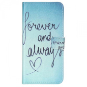 IPhone 6 Case, Sandistore Flip Leather Stand Wallet Case Cover for iPhone 6