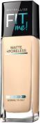 Maybelline Fit Me Matte Plus Poreless Foundation - 110 Porcelain