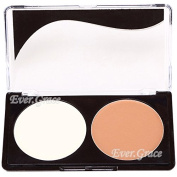 2colors Make up Bronzing Powder Bronzer Concealer Face Foundation Matte Cosmetics