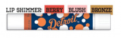 Detroit Tigers MLB Bronze Lip Gloss