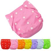 dzt1968 1pc Best Seller Cloth Nappy Reusable Washable Baby Cloth Nappies Nappies