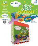 EnviUs Jibe Play Mat Numeric : Formamide Free 10 Pieces 30cm x 30cm x 1cm