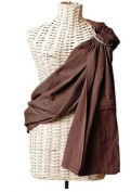 Maya Wrap Lightly Padded Ring Sling - Mocha