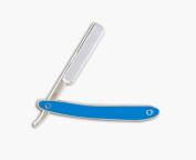 MD Straight Razor Lapel Pin