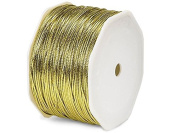 Cord, Thread & Wire Metallic Cord Braided Tie Cords Trim Jewellery Cord Trim in 1mm 1.5mm 100 Yards