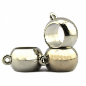 PendantScarf CCB Plastic Silve Tone Jewellery Beads with Ring Holder