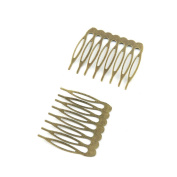 Price per 100 Pieces Antique Bronze Jewellery Making Charms Findings Supplies R2NU2 Hair Comb Craft Ancient Repair Lots DIY Pendant Vintage