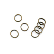 Price per 240 Pieces Antique Bronze Jewellery Making Charms Findings Supplies P5JD9 Jump Ring 18mm Craft Ancient Repair Lots DIY Pendant Vintage