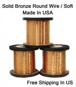 Modern Findings, 20 Ga Bronze Round Wire Dead Soft
