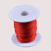 LONG SHENG 1mm 90M/Roll Colourful Beading Thread Nylon Cord String Jewellery Making Supplies