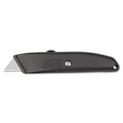 Homeowner's Retractable Utility Knife, Metal, Sold as 1 Each
