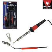 New Professional 5pc Soldering Iron Tool Kit Set Solder Sodering Gun