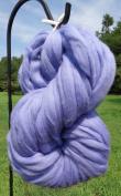 Periwinkle Merino Wool Top Roving Fibre Spinning, Felting Crafts USA