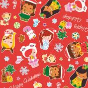 Holiday Island Yumi Hawaiian Hula Christmas Gift Wrap Paper / 2 Rolls