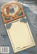 Country Message Grocery List Cross Stitch Kit by What's New